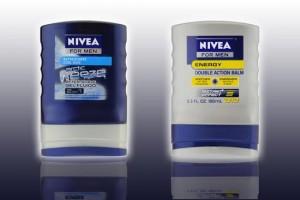 Nuevo Envase para Bálsamo Nivea para despues de la afeitada