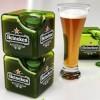 Garrafa quadrada pode deixar transporte de cerveja mais sustentável