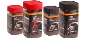 Café soluble en PET