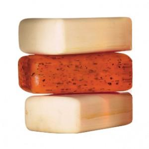Indústria sofistica oferta de sabonetes