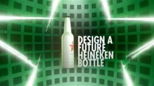 Heineken chama fãs para criarem garrafa do futuro