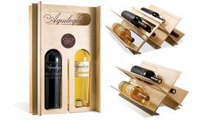 Wine Case to Wine Rack uma embalagem que se transforma em adega