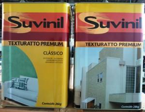 Novas latas de tintas da Suvinil