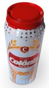 Cervejaria Colônia lança a primeira cerveja do mundo com lacre plástico de proteção