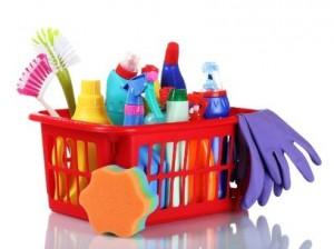 Otimismo em produtos de limpeza