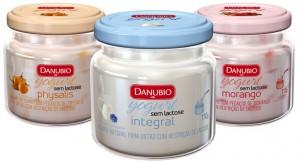 Danubio lança iogurte à base de leite sem lactose em embalagem de vidro da Owens-Illinois