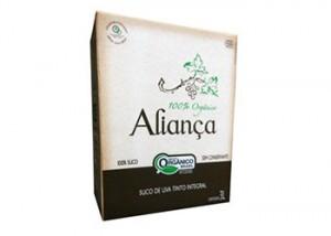 Nova Aliança lança suco de uva orgânico em embalagem institucional bag in box 3L