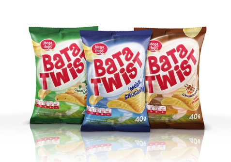 OBAH assina embalagem de batata ondulada da Mega Chips