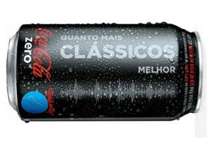 Coca-Cola Zero leva música e tecnologia para as embalagens
