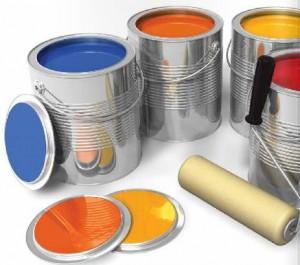 Embalagens metálicas para tintas