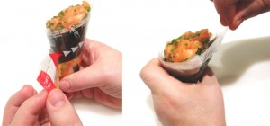 São Paulo-Tokyo Temaki & Sushi inova com embalagem japonesa
