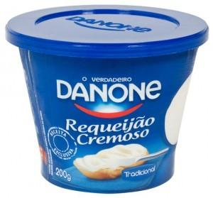 Danone lança requeijão em embalagem com novo formato