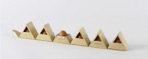 Inspirado na técnica do Origami estudante de design cria embalagem inovadora para ovos
