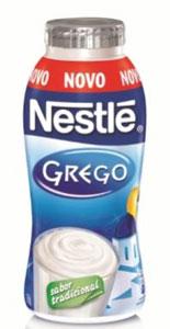 Nestlé lança iogurte grego líquido em embalagem prática de 170 g