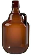 Primeiro growler de vidro produzido no Brasil foi lançado na Feira Brasileira da Cerveja