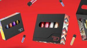 Marca cria esmalte de dose única e embalagem reutilizável