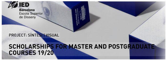 Concorra a 28 Bolsas de Estudos Integrais para os cursos de Master e Pós-Graduação em Design e Moda – IED Barcelona