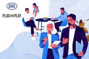 Colaboração com a Plug and Play amplia papel da SIG de pioneira em inovação
